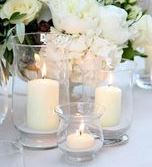 hurricane lamps for weddings